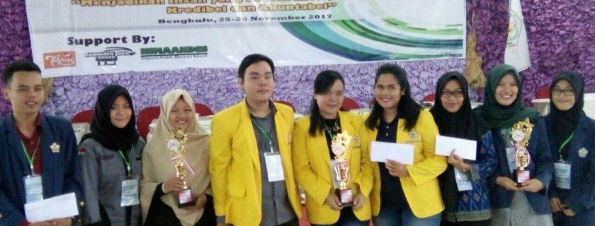 Akuntansi Unib Raih 2 Trofi dalam Kompetisi Akuntansi Universitas Dehasen