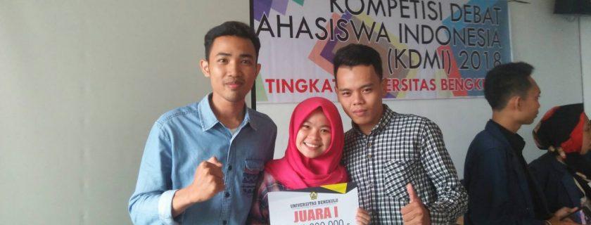 Mahasiswa Akuntansi Berjaya dalam Kompetisi Debat Mahasiswa